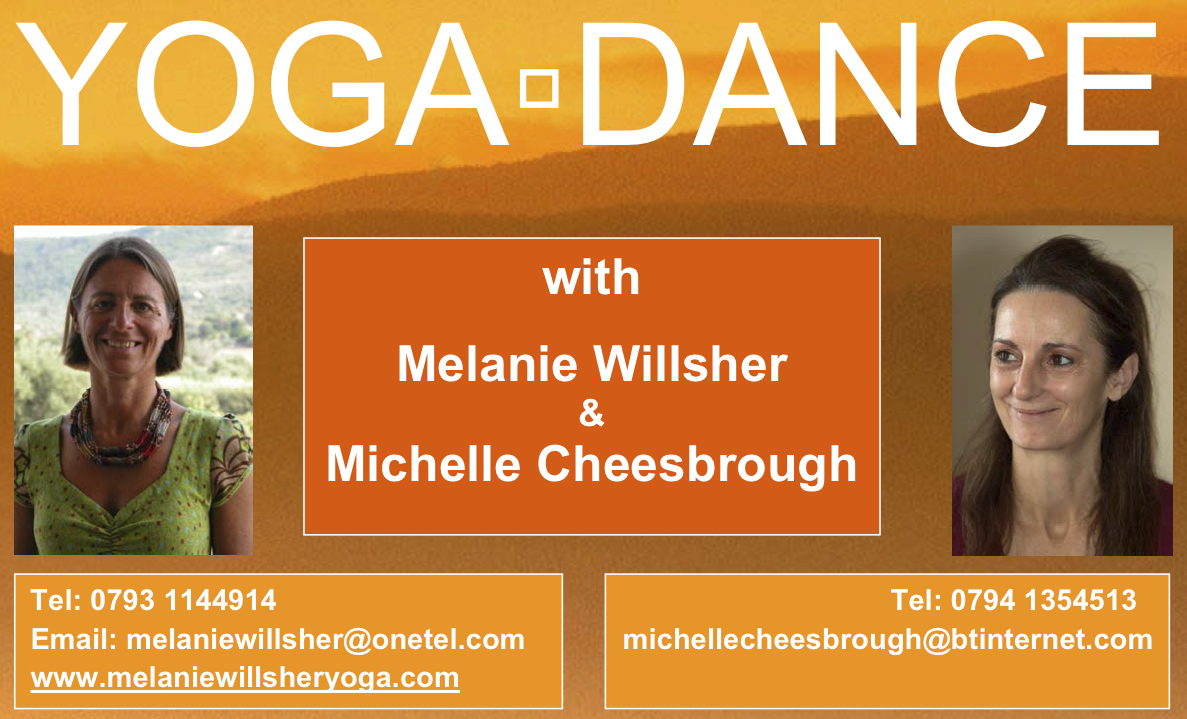Yoga Dance with Michelle Cheesbrough and Melanie Willsher Yoga Glow Studio Beccles