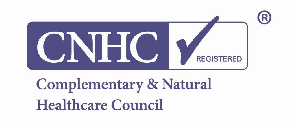 Complementary & Natural Healthcare Council registered