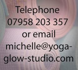 Telephone & Email Yoga Glow Studio Beccles