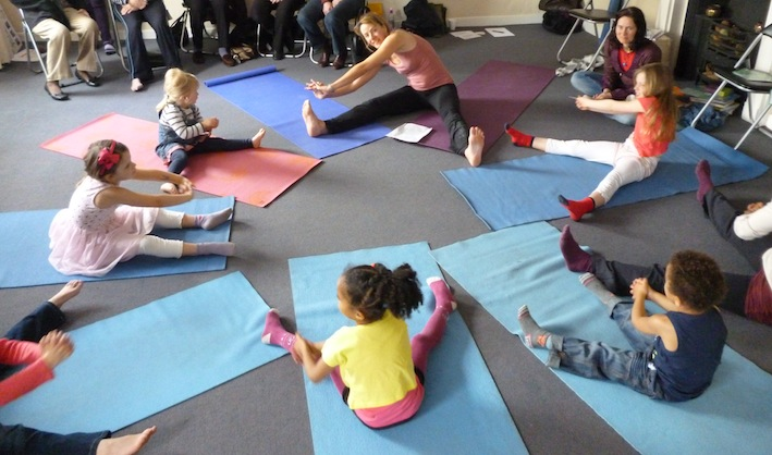 Yoga Glow Studio Open Day - Kids Yoga Demonstration