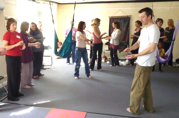 Yoga Glow Studio Beccles Open Day - Tai Chi Demonstration
