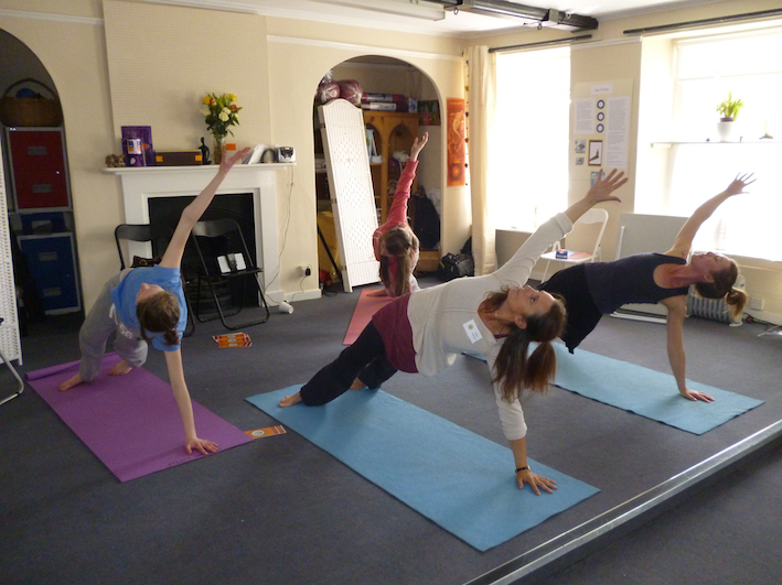 Yoga Glow Studio Beccles Open Day - Yoga Dance Demonstration