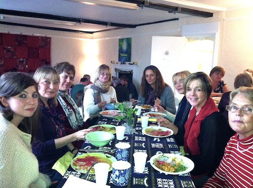 ayurvedic lunch at Yoga Glow Studio, Beccles